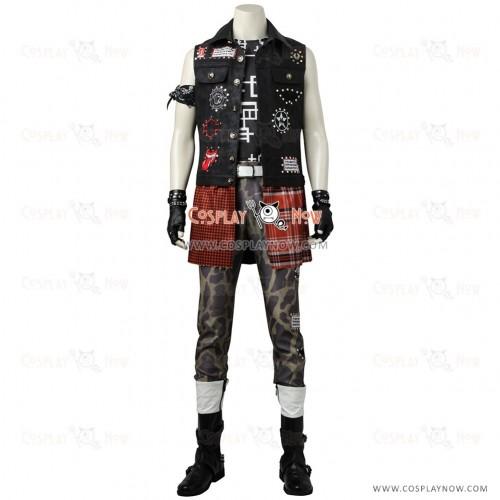 Final FantasyPrompto ArgentumCosplay Costume