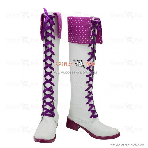 The Idolmaster Cosplay Shoes Shijou Takane Boots
