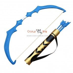 League of Legends LOL Ashe Shooter Bow Arrow and Arrow Holder PVC Cosplay Props