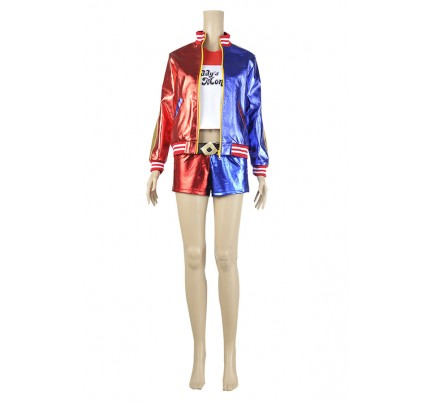 Suicide Squad Cosplay Harley Quinn Costume