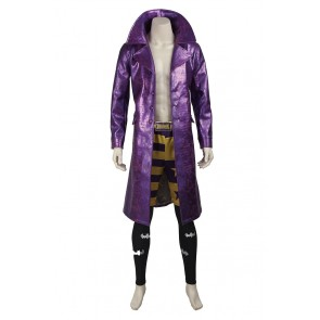 Batman Suicide Squad Cosplay The Joker Costume