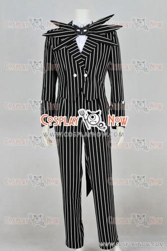 The Nightmare Before Christmas Cosplay Jack Skellington Costume