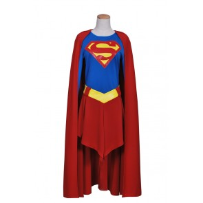 Superman Supergirl Cosplay Costume