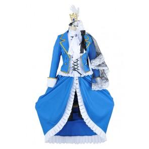 Ciel Phantomhive White Camellia Costume For Black Butler Kuroshitsuji Cosplay
