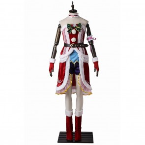 The Idolmaster Eve Santaclaus Cosplay Costume