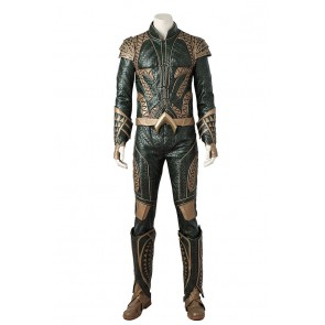 Justice League Cosplay Aquaman Arthur Curry Costume