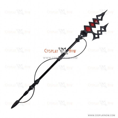 Fate Extra CCC Cosplay Elizabeth Bathory Props with Polearm Mastery