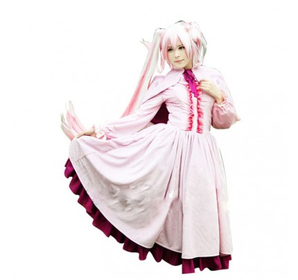 Akame ga KILL! Mine Cosplay Costume Pink Dress