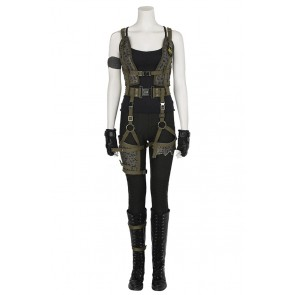 Alice Costume For Resident Evil The Final Chapter Cosplay Uniform