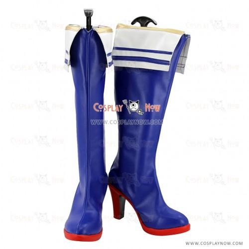 The Idolmaster Cosplay Shoes Kawashima Mizuki Boots