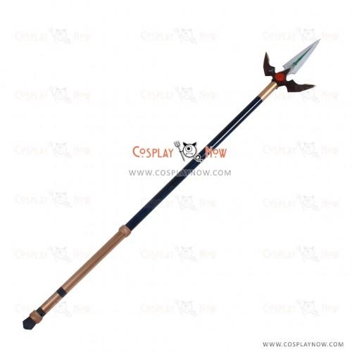Sengoku Night Blood Cosplay Sanada Yukimura props with spear