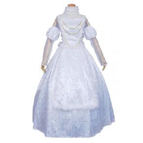 Alice In Wonderland Cosplay White Queen Costume