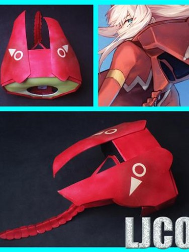 DARLING in the FRANXX 02(ZERO TWO)Armour Cosplay Props