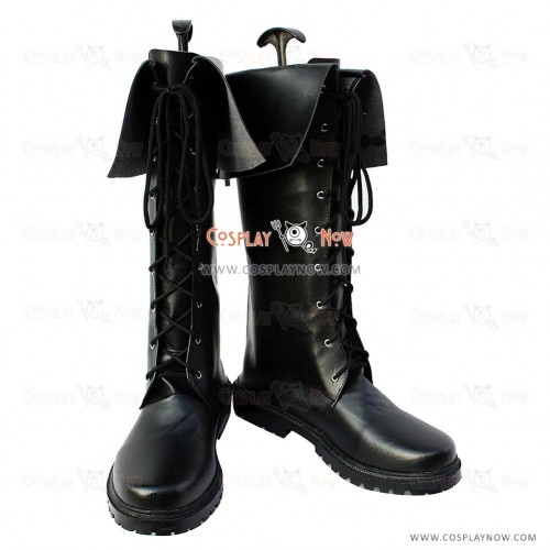 Uta no Prince-sama Cosplay Shoes Tokiya Ichinose Black Boots