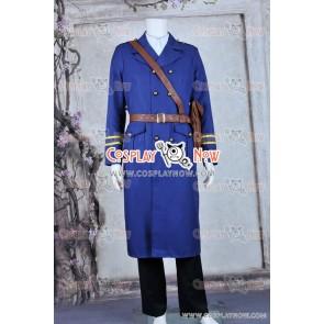 Hetalia: Axis Powers Sweden Berwald Oxenstierna Cosplay Costume