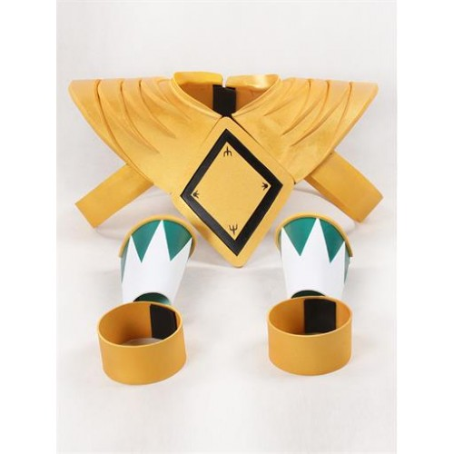 Mighty Morphin Power Rangers Green Ranger Dragon Shield with Two Bands and Bracers Cosplay Prop