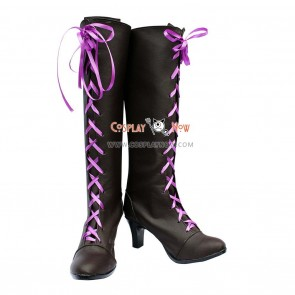 Black Butler 2 Cosplay Shoes Earl Alois Trancy Boots