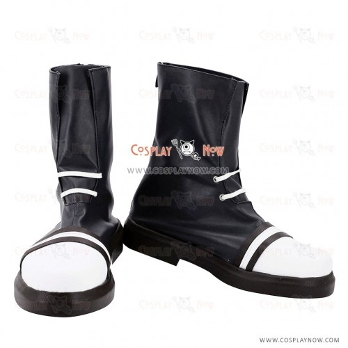 Hack//G.U. Cosplay Shoes Ovan Black & White Boots