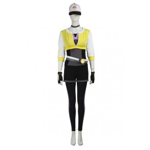 Pokemon GO Cosplay Female Yellow Uniform