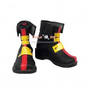 Magical Girl Lyrical Nanoha Cosplay Shoes Teana Lanster Boots