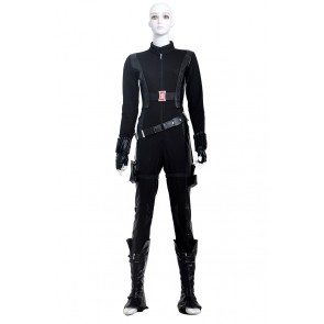 The Winter Soldier Natasha Romanoff Black Widow Costume For Captain America 2 Cosplay