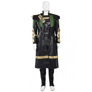 Loki Costume For The Avengers Cosplay Uniform
