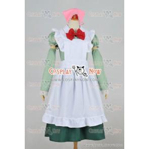 Hetalia: Axis Powers Hungary Maid Dress Cosplay Costume