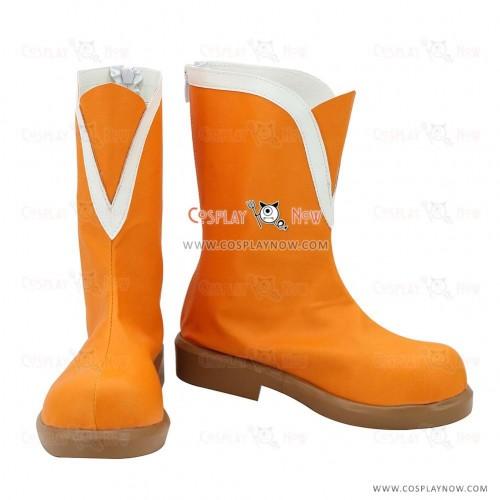 Love Live! Lovelive! School Idol Festival Sunny Day Song Maki Nishikino Orange Shoes Cosplay Boots