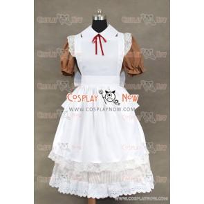 Hetalia: Axis Powers Italy Maid Dress Cosplay Costume