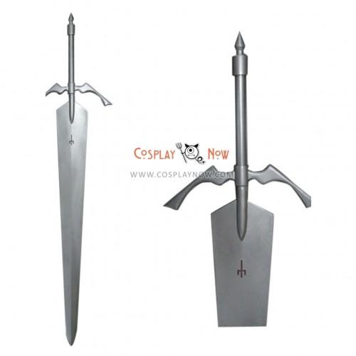 Claymore Sophia Big Sword PVC Cosplay Props Weapon