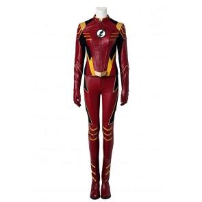 The Flash Season 3 Cosplay Jesse Quick Costume