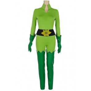 Batman And Robin Poison Ivy Cosplay Green Costume
