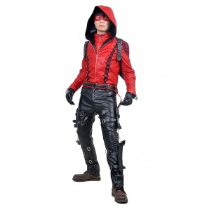 Red Arrow Roy Harper Costume For Green Arrow Cosplay