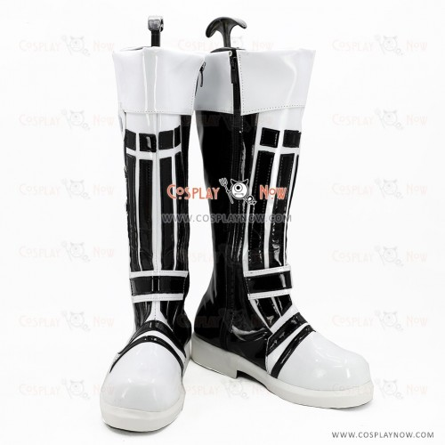 VOCALOID Snow Miku Cosplay Shoes Utatane Piko Boots