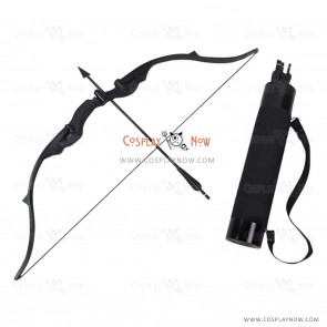 Marvel The Avengers Hawkeye Bow Arrow and Arrow Holder Cosplay Props
