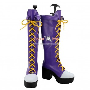Touhou Project Cosplay Shoes Mononobe no Futo Boots