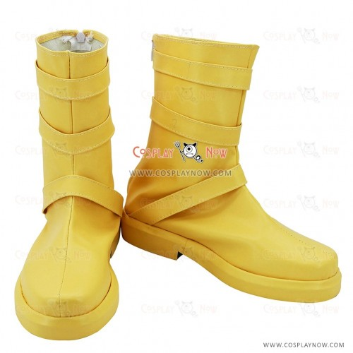 Sailor Moon Male Version Of Tsukino Usagi Yellow Cosplay Boots