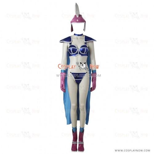 Dragon Ball Chichi Cosplay Costume