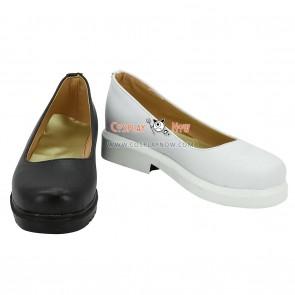 The Seven Deadly Sins Elizabeth Liones Black White Cosplay Shoes