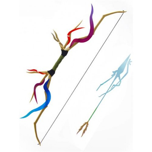 Pocket Monster-Pokémon Xerneas Bow and Arrow Cosplay Prop