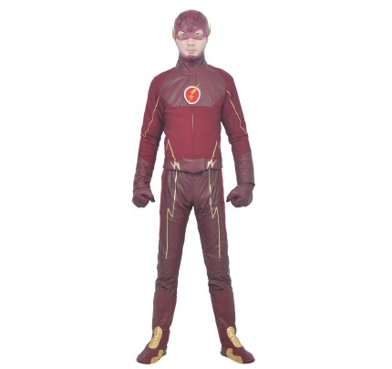 Barry Allen Costume For The Flash Cosplay Uniform