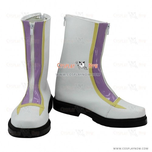 Yu-Gi-Oh! Cosplay Shoes Kite Tenjo White Boots