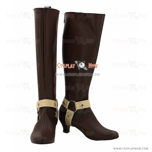 The Legend of Heroes Cosplay Shoes Laura S Arseid Boots
