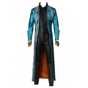 Vergil Costume For Devil May Cry 3 Dante's Awakening Cosplay