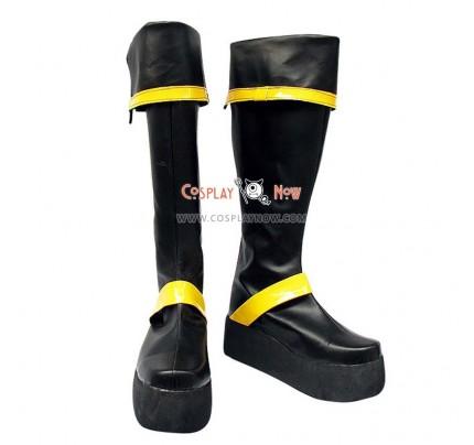 D Gray Man Cosplay Shoes Yu Kanda Boots