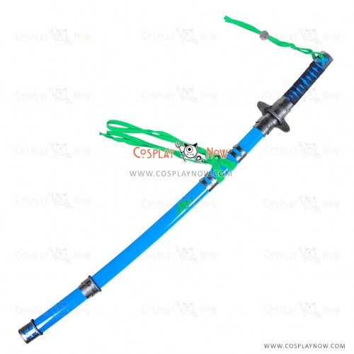 BLUE EXORCISTO kumura Rin Sword with Sheath Cosplay Props