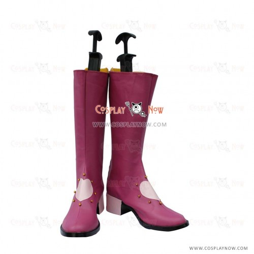 Macross Frontier Cosplay Shoes Sheryl Nome Boots