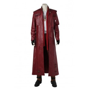 Guardians of the Galaxy Cosplay Star-Lord Peter Quill Costume