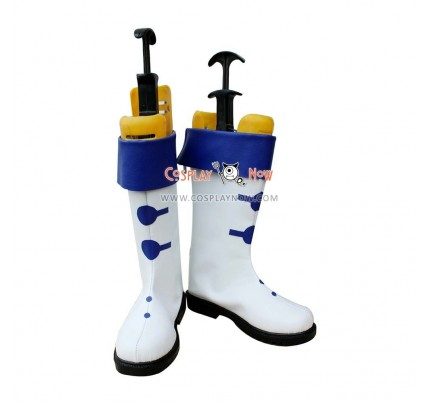The Legend of Sun Knight Cosplay shoes Elmair Leaf Boots