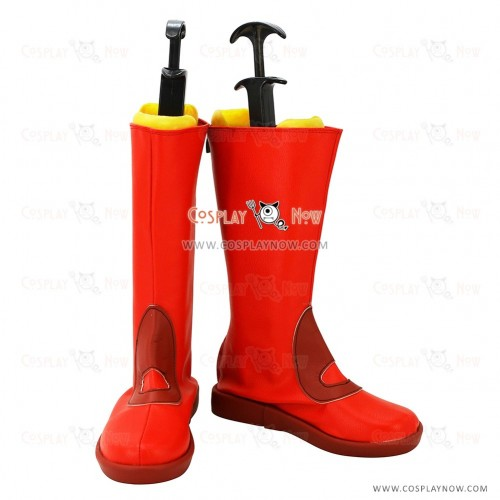 Pokemon Go Cosplay Shoes Maxie Boots